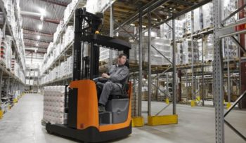 Reach Truck Forklift Training